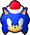 File:Sonic Runners Christmas Sonic Icon.png
