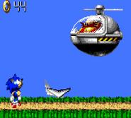Green Hill Sonic Blast Boss