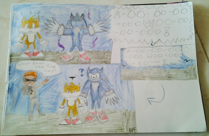 Werehog comic