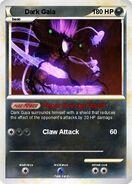 Trading card Dark Gaia