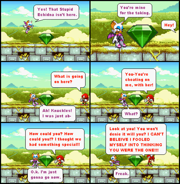 Knuckles has issues