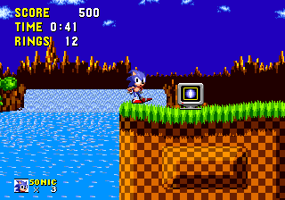 File:You could understand that I'm blue spinning hedgehog without shields.png