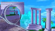 Blue Coast Background 2