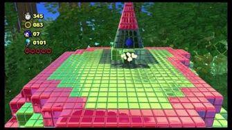 Sonic Lost World - Desert Ruins Zone 2