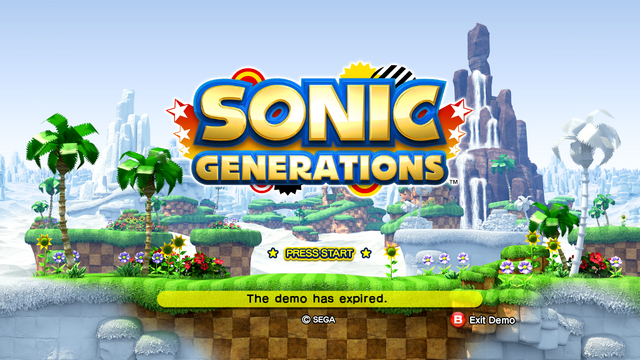 File:Sonic Generations 20 Day Demo Title Screen 720p.png