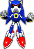 Sonic Rivals 2 - Metal Sonic model