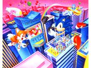 Sega Saturn Free Fall