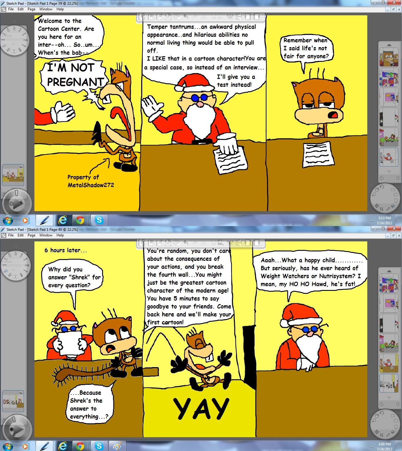 Cartoon Interviewing