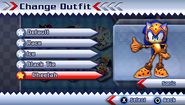 Sonic's Cheetah Suit