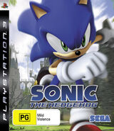 Sonic The Hedgehog (2006) - Box Artwork - Ps3 Australian Front - (1)