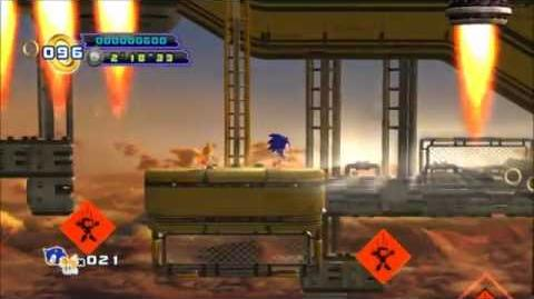 Sonic The Hedgehog 4 Episode 2 - Sky Fortress Act 3