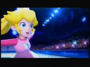 Peach at the Olympic Winter Games