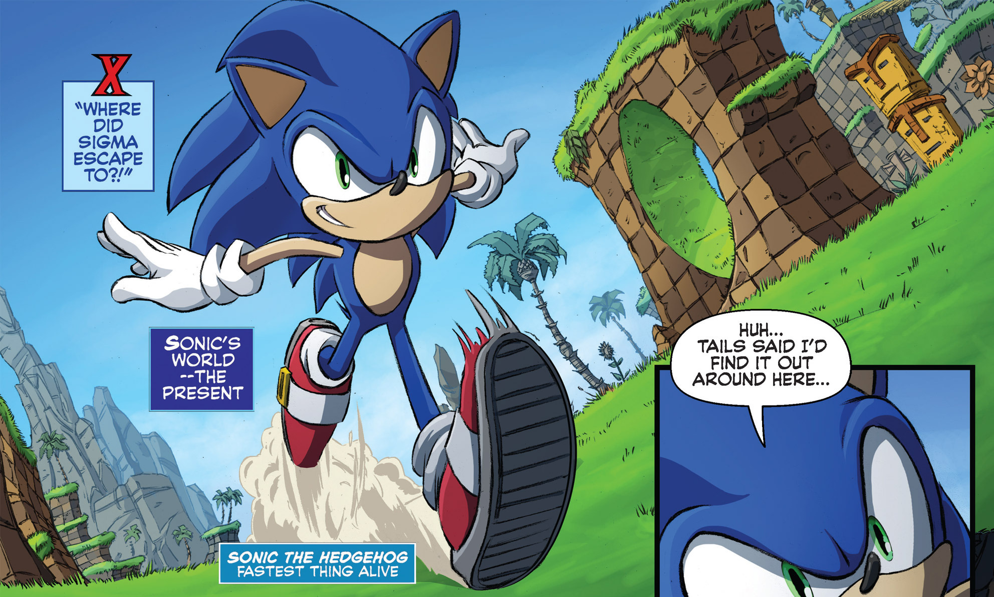 Green Hill Zone Archie Sonic News Network Fandom