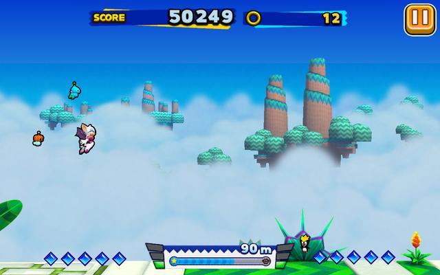 File:Sky Road (Sonic Runners) - Screenshot 4.png