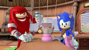 TMAMB Knuckles and Sonic