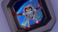 S2E02 Knuckles back in the rocket