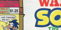 Archie Sonic the Hedgehog Issue 2