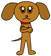 Sally the Dog Artwork