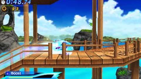Sonic Generations 3DS - Modern Emerald Coast