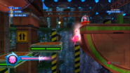 Pink Spikes Sonic Colors Spin Charge
