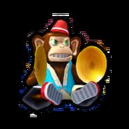 Cymbal Monkey SR