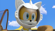 Tails spacesuit