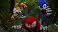 SBFAI Tails Knuckles and Sonic