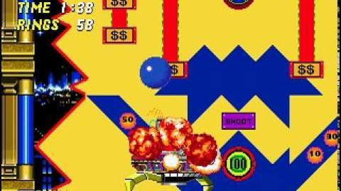 Sonic 2 - Casino Night Zone boss
