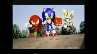 McDonald's Sonic Heroes LCD Games Commercial (2004)