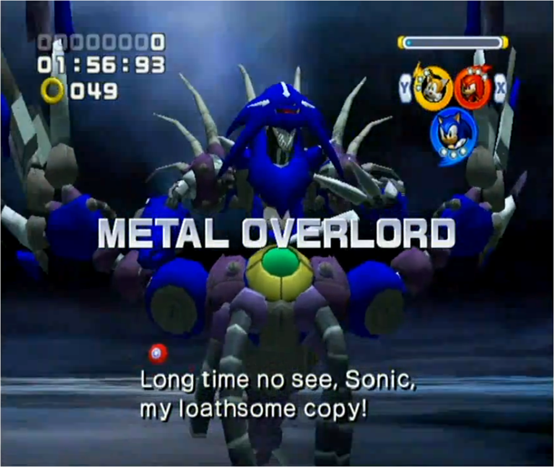 Metal Overlord | Sonic Wiki | FANDOM powered by Wikia