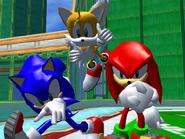 Result Screen - Grand Metropolis - Team Sonic