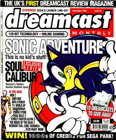File:Dreamcast Monthly Issue 1 1999-09 Quay Publishing GB 0000.jpg