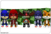 Sonic littlebigplanet
