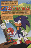 Sonic X issue 12 page 1