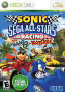 Sonic & SEGA All-Stars Racing - Xbox 360 Box Art