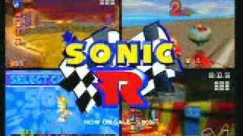 Sega Saturn Sonic R Japanese commercial