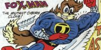Captain Super Fox-Man the Mutant Cyborg Clone