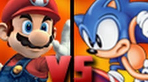 DEATH BATTLE! - Mario VS Sonic-0