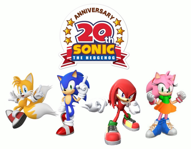 File:Sonic 20th Anniversary Wallpaper.png