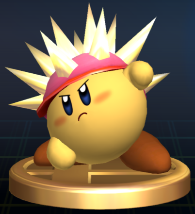 File:Needle Kirby - Brawl Trophy.png
