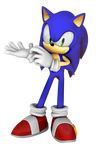 File:Sonic the hedgehog 3d pose by fentonxd-d4ya16a.png