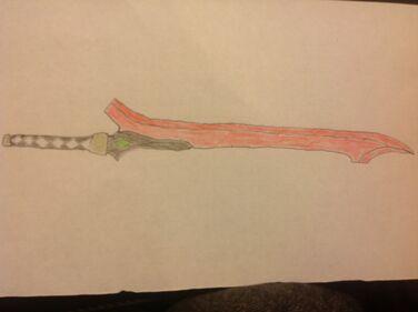 Judas's long sword