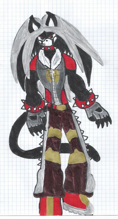 Blackspell the vampire panther by the doom113-d56xzxt