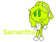 Cartoon comics Samantha