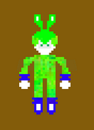 Sam the rabbit pixel art