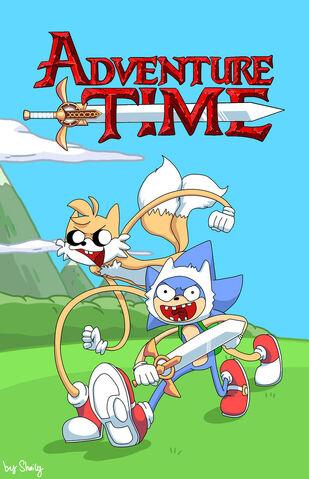 File:Adventure time by sonic vnn-d3jbe7j.jpeg