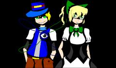 Mia and Kori