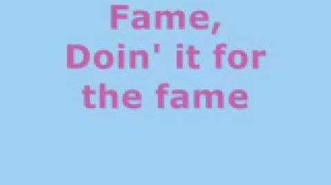 Lady GaGa - The Fame (lyrics)