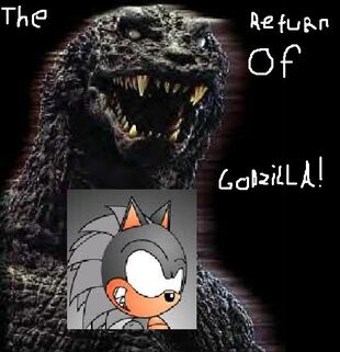 THE RETURN OF GODZILLA GAME POSTER