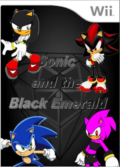 Sonic and the Black Emerald Box Art